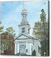 First Church Sandwich Ma Acrylic Print