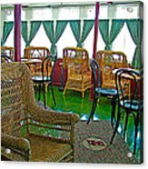 First Class Lounge In S S Klondike On Yukon River In Whitehorse-yt Acrylic Print