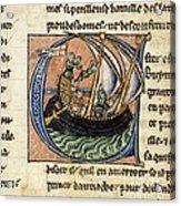First Crusade, 11th Century Acrylic Print