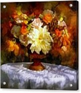 First Day Of Autumn - Still Life Acrylic Print