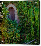 First Door On The Left Acrylic Print by Bill Gallagher