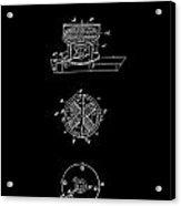 First Electric Motor 2 Patent Art 1837 Acrylic Print