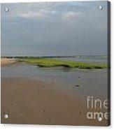 First Encounter Beach Sunset.02 Acrylic Print