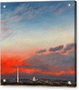 Obama Inaugural Sunrise 2 Acrylic Print