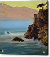 First Light At Point Lobos Acrylic Print