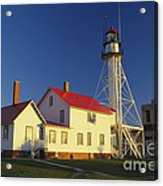 First Light At Whitefish Point Acrylic Print