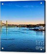 First Light Piscataqua River Acrylic Print