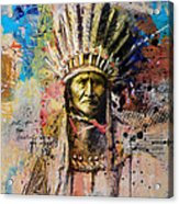 First Nations 6 Acrylic Print