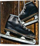 First Pair Of Ice Skates Acrylic Print