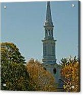First Parish - Lexington Acrylic Print