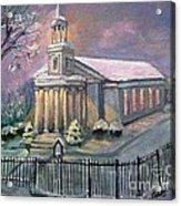 First Parish Church Acrylic Print