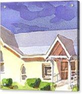 First Presbyterian Church II Ironton Missouri Acrylic Print