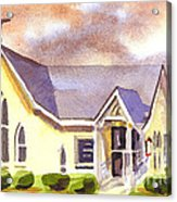 First Presbyterian Church Ironton Missouri Acrylic Print