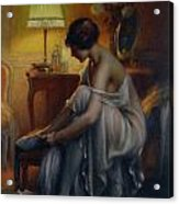 First Primers Acrylic Print by Delphin Enjolras
