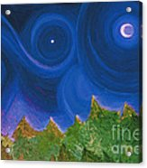 First Star Wish By Jrr Acrylic Print by First Star Art