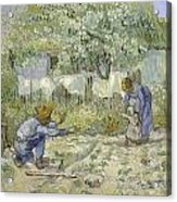 First Steps Van Gogh Acrylic Print
