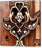 Firuz Aga Mosque Door 05 Acrylic Print