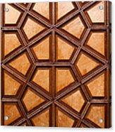 Firuz Aga Mosque Door 06 Acrylic Print