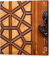 Firuz Aga Mosque Door 07 Acrylic Print