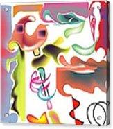 Fish Bone Acrylic Print