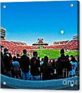 Fish-eye View Of The Jones Stadium Acrylic Print