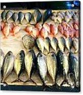 Fish For Sale In Taiwan Acrylic Print