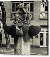 Fish Fountain Cologne Acrylic Print