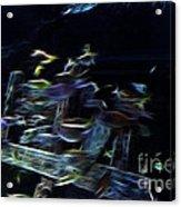 Fish In Aquarium Acrylic Print