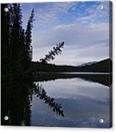 Fish Lake At Nordegg 05 Acrylic Print