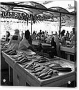 Fish Market In Dubai Acrylic Print by Maeve O Connell