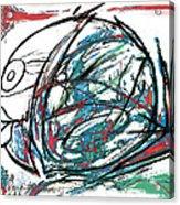 Fish Morden Art Drawing Painting Acrylic Print