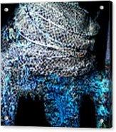 Fish Net Santorini Island Greece  Acrylic Print
