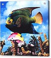 Fish Sculpture Acrylic Print