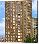 Fisher Building - A Neo-gothic Chicago Landmark Acrylic Print