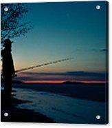 Fisherman And A Star Acrylic Print