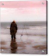 Fisherman By The Sea Acrylic Print