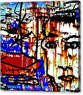 Fisherman Acrylic Print