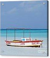Fisherman's Beach In Aruba Acrylic Print