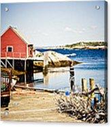 Fisherman's Cove Acrylic Print