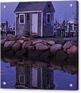 Fisherman's Shack Evening Acrylic Print