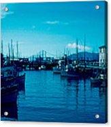 Fisherman's Wharf 1955 Acrylic Print