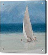 Fishermen Kilifi Acrylic Print