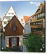 fishermens quarter in Ulm Acrylic Print