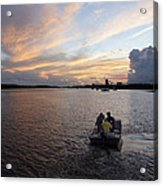 Fishers Of The Night Acrylic Print
