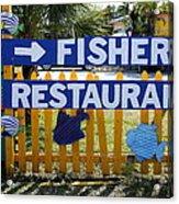Fishery Acrylic Print