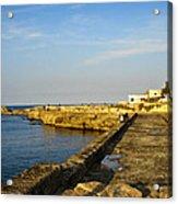 Fishing - Alexandria Egypt Acrylic Print