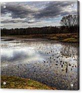 Fishing And Hunting Spot Acrylic Print