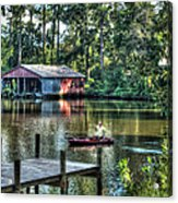 Fishing At Big Daddy's Acrylic Print