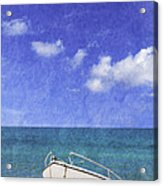 Fishing Boat Algarve Portugal Acrylic Print