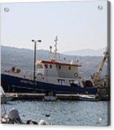 Fishing Boat Apostolos - Samos Acrylic Print